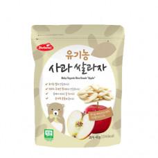 Bebest: Organic Rice Snack - Apple