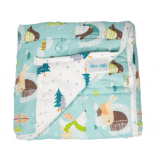 "Hugzz: Weighted Blanket 36"" x 48"" - 5lb Animals"