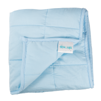 "Hugzz: Weighted Blanket 36"" x 48"" - 5lb Baby Blue"