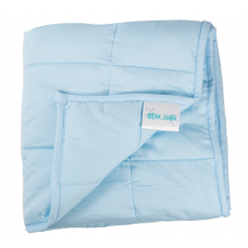 "Hugzz: Weighted Blanket 48"" x 72"" - 15lb Baby Blue"