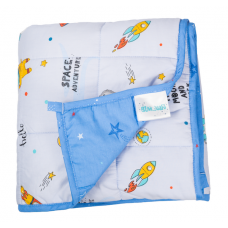 "Hugzz: Weighted Blanket 36"" x 48"" - 5lb Space"