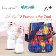 BE: Breast Pump Bundle - Be Mini x2 + Be Cool