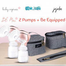 BE: Breast Pump Bundle - Be Mini x2 + Be Equipped