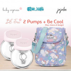 BE: Breast Pump Bundle - Be Free x2 + Be Cool