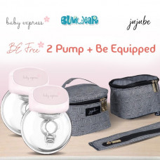 BE: Breast Pump Bundle - Be Free x2 + Be Equipped
