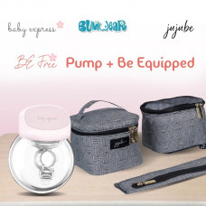 BE: Breast Pump Bundle - Be Free + Be Equipped