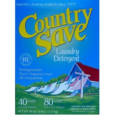 Country Save: Laundry Detergent - Single 5lb 40/80 washes box