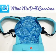 Doll Carrier - Blue Bush