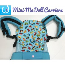 Doll Carrier - Blue Cars