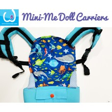 Doll Carrier - Blue Fish