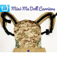 Doll Carrier - Brown Camo