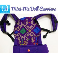 Doll Carrier - Deep Purple Batik