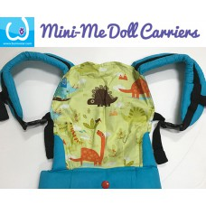 Doll Carrier - Green Dino