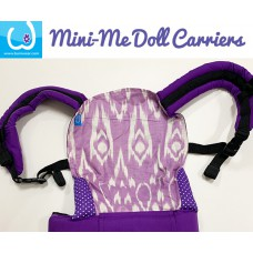 Doll Carrier - Purple Batik