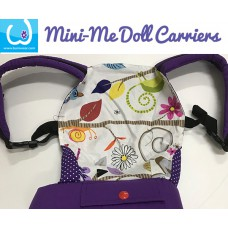 Doll Carrier - Purple Borneo Dawn