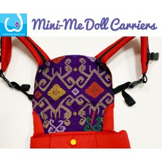 Doll Carrier - Red Batik