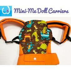 Doll Carrier - Stripe Dino