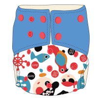 BW Cloth Diapers - Ahoy Captain