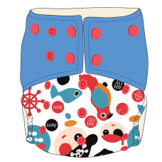Bumwear: Cloth Diapers - Ahoy Captain