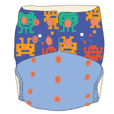 Bumwear: Cloth Diapers - Lego Monsters
