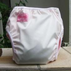 Bumwear: Training Pants - White Pink (Large)