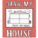 Drawn By Jessica: Washable Silicone Colouring Mat - Draw My House
