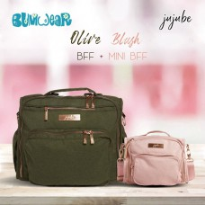 Jujube: Olive - Bundle Deal C (Olive B.F.F. + Blush MBFF)