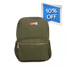 Jujube: Olive - Midi Backpack