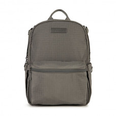 Jujube: Basketweave Mineral - Midi Deluxe Backpack