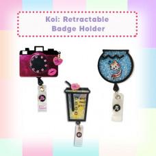 Koi: Retractable Badge Holder