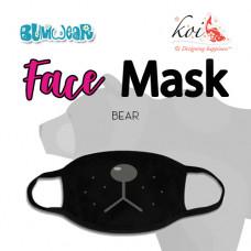 Koi: Face Mask - Bear (Coming Mid July)