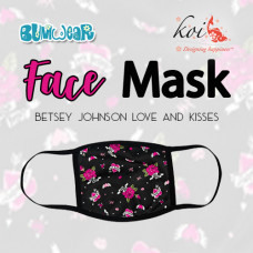 Koi: Face Mask - Betsey Johnson Love and Kisses (Coming Mid July)