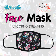 Koi: Face Mask - Unicorno Dreaming (Coming Mid July)