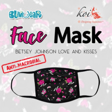 Koi: Face Mask - Betsey Johnson Love and Kisses