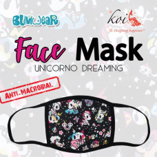 Koi: Face Mask - Unicorno Dreaming