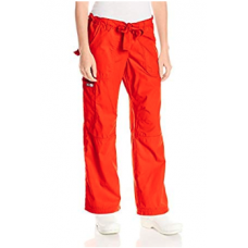 Koi: Lindsey Scrub Pants - Chili Red M