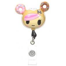 Koi Retractable Badge Holder - Donutella