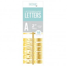American Crafts - 2 Inch Letters - Gold