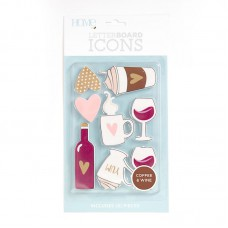 American Crafts: Icon - Coffee/Wine