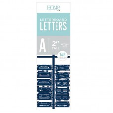 American Crafts: 2 Inch Letters - Navy