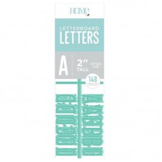 American Crafts - 2 Inch Letters - Teal