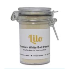 Lilo - White Bait Powder Bottle (50grams)