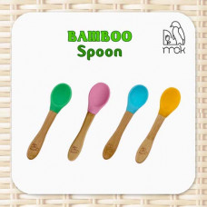 My Chill Kitchenette: Bamboo Silicone Spoon