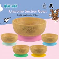 My Chill Kitchenette: Unicorno Bamboo Bowl (With Suction)