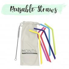 Montiico: Reusable Straws