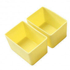 Munchbox: Munch Cups - Lemon Rectangle (2 pieces)