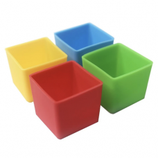 Munchbox: Munch Cups - Bold Squares (4 pieces)