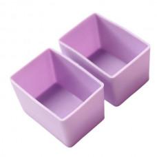 Munchbox: Munch Cups - Purple Rectangle (2 pieces)