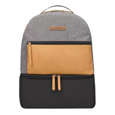 Petunia Pickle Bottom: Axis Backpack - Camel/Graphite