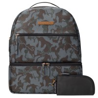 Petunia Pickle Bottom: Axis Backpack - Camo Leatherette
